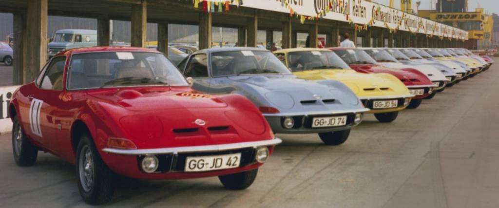 Opel GT Club Portugal assinala 50 anos do modelo com passeio