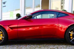 Aston Martin Vantage: Atleta de alto rendimento