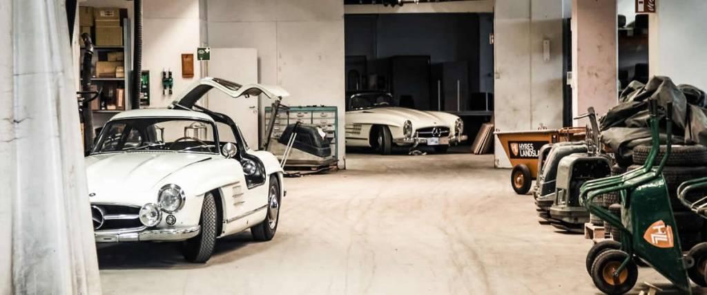 Dupla de Mercedes-Benz 300 SL vai a leilão no Le Mans Classic