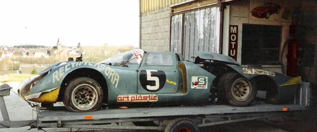 O Alfa Romeo 33/2 que foi enterrado em Angola para escapar à guerra