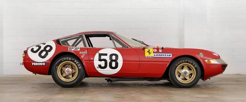 Ferrari 365 GTB/4 Daytona pode chegar aos 7,5 milhões de euros em leilão