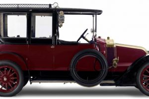 O Renault 20 CV de 1912 que pertenceu a João Franco