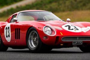 Ferrari 250 GTO pode chegar aos 40 milhões de euros em leilão