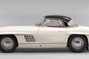 Mercedes-Benz 300 SL Roadster vendido pelo valor recorde de 3,1 milhões de euros