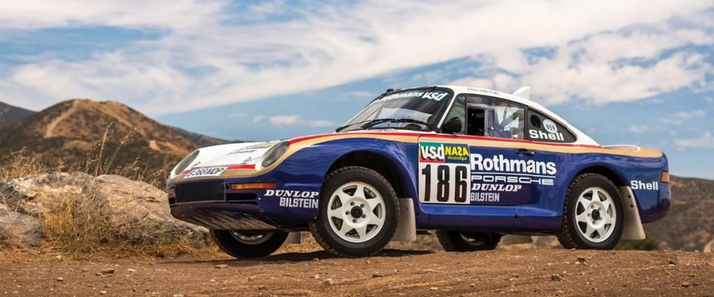 Porsche 959 que participou no Paris-Dakar em 1985 vendido por 5,2 milhões de euros
