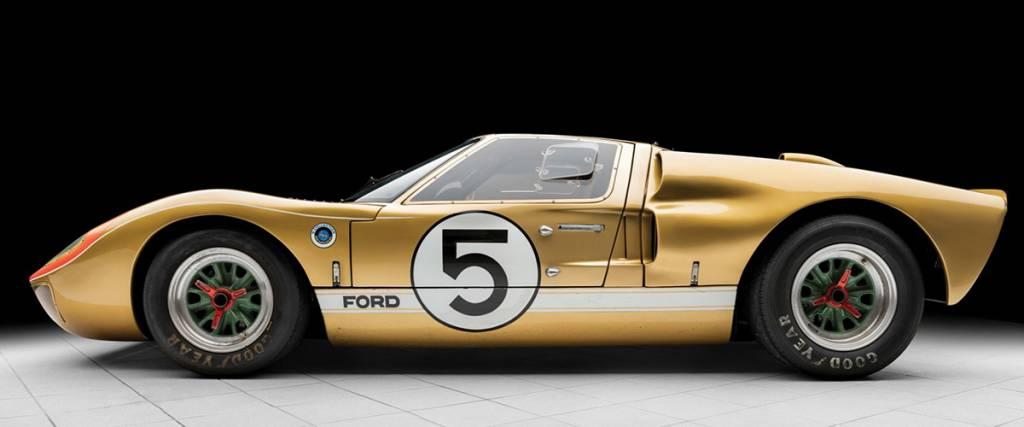 RM Sotheby's leiloa Ford 40 GT Mk II que foi ao pódio das 24H de Le Mans em 1966