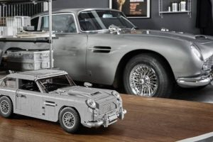 Lego recria Aston Martin DB5 de James Bond