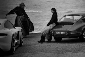 Peter Lindbergh fotografa modelos Porsche