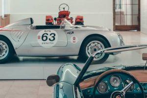 """J. Amaral Reboques transporta automóveis da exposição """"Porsche: 70 anos de evolução"""""""
