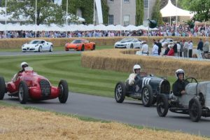 Goodwood Festival of Speed decorre até Domingo