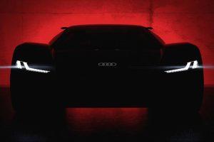 Audi apresenta protótipo de superdesportivo 100% eléctrico