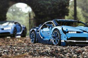O fantástico Bugatti Chiron da Lego Technic