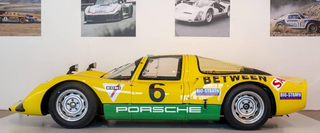 Porsche Carrera 6 de 1966 junta-se à exposição Porsche no Museu do Caramulo