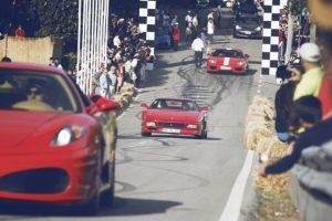Passeio de Ferraris da Maranello Legacy estreia-se no Caramulo Motorfestival