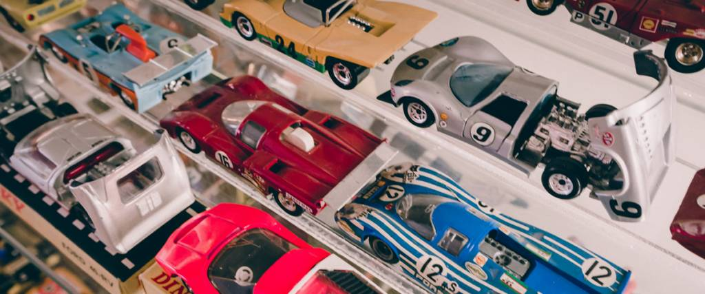 Como começar uma colecção de miniaturas automóvel