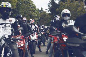 Passeio Ducati marca presença de novo no Caramulo Motorfestival