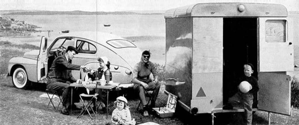 Volvo Caravan: O hotel móvel dos anos 50