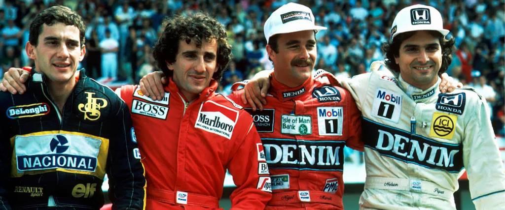 Snapshot: Os quatro cavaleiros da F1 no Autódromo do Estoril