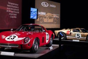 Leilão da Monterey Car Week com vendas superiores a 135 milhões de euros