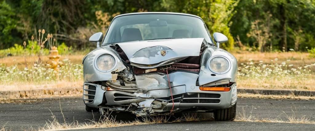 """Porsche 959 """"desfigurado"""" vendido por 400 mil euros"""
