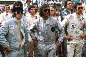 Snapshot: Os Cavaleiros do Apocalipse no GP de Kyalami em 1973