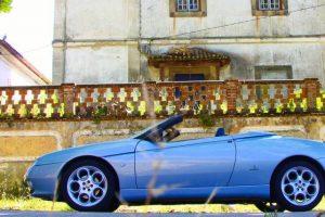 Alfa Romeo Spider V6 3.0, agressivo e sofisticado