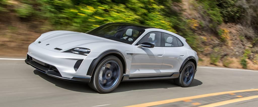 Porsche Concept Mission E Cross Turismo vai ser produzido em série