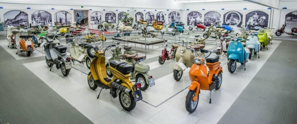 Esta colecção de scooters encanta qualquer entusiasta das duas rodas