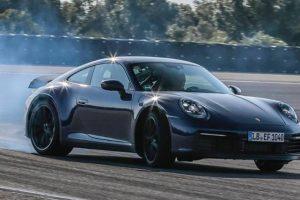 Porsche revelou programa de testes da oitava geração do 911