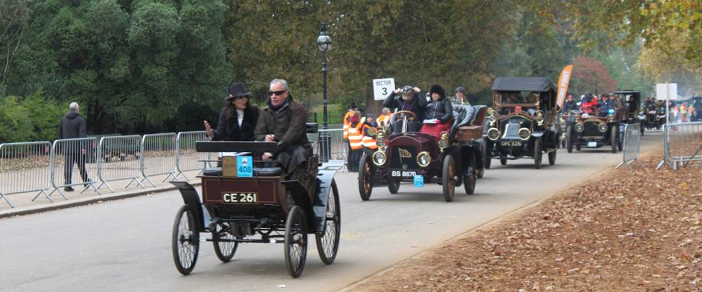 Londres-Brighton: Os veteranos do automobilismo