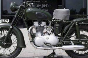 """Triumph de 1962 de """"The Great Escape"""" esteve no Chubb Insurance Concours d'Elégance 2018"""