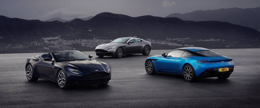 A linha DB da Aston Martin faz 70 anos