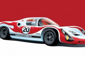 A arte de Arthur Schening é dar cor a estes automóveis icónicos