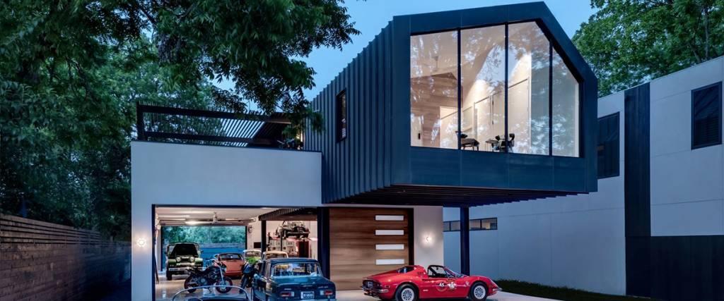 A casa de sonho de qualquer coleccionador de automóveis