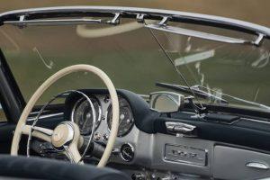 Uma estrela da constelação da Mercedes-Benz