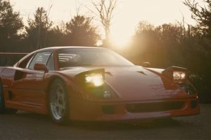 Ferrari F40: O amuleto da sorte
