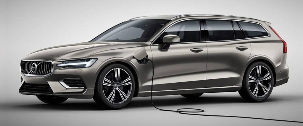 Volvo V60 Plug in Hybrid abaixo de 50 mil euros para empresas
