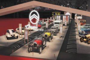Citroën celebra centenário com exposição na Retromobile