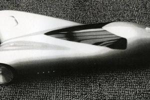 Peter Maier e o protótipo de três rodas da General Motors