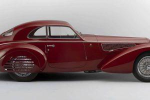 Alfa Romeo 8C 2900 B vendido por mais de 16 milhões de euros em leilão