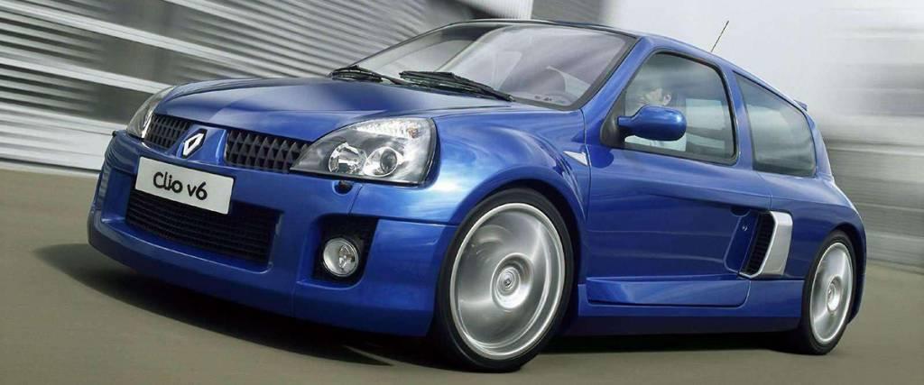 Renault Clio V6: O raio azul