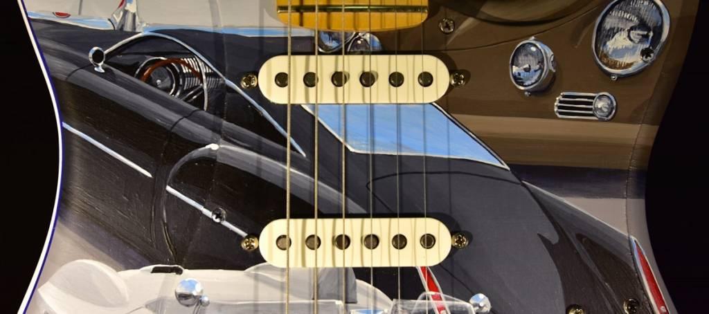 A guitarra de John Oates vai a leilão no Concurso de Elegância de Amelia Island