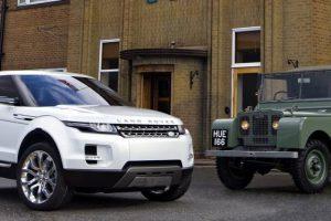 Os sete melhores Land Rover