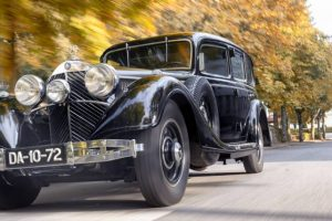Mercedes-Benz 770K blindado do Museu do Caramulo em destaque na Classic & Sports Car