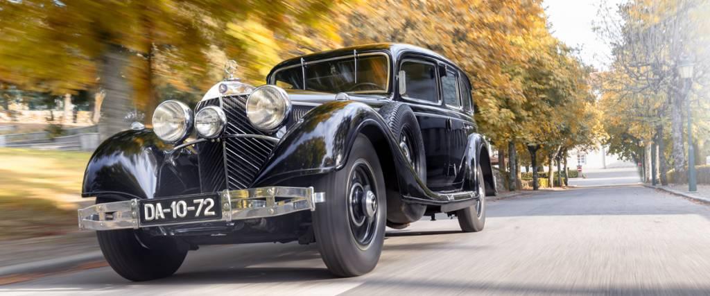 Mercedes-Benz 770K blindado do Museu do Caramulo em destaque na Classic & Sports Car
