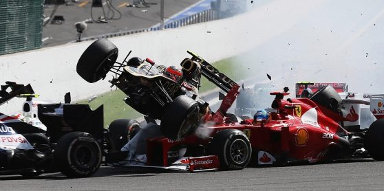 Os quinze piores acidentes da Fórmula 1