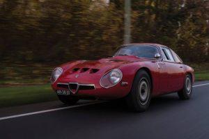 Giulia TZ, o GTO da Alfa Romeo