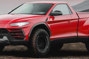 E se a Lamborghini fizesse uma pickup?