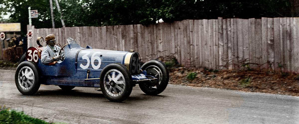 Snapshot: Quando o Bugatti bateu o