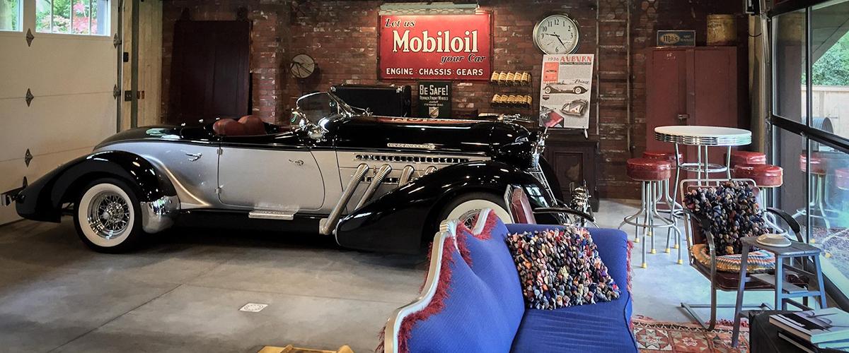 O lugar de sonho que é muito mais do que uma garagem de clássicos